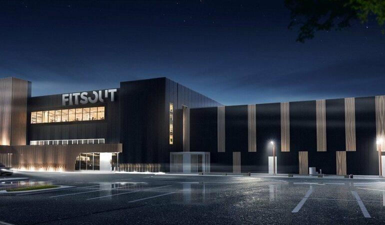 Baldų fabriko Fitsout statybos projektas - PST projektai