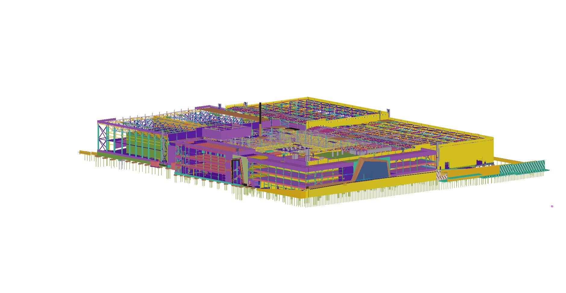 ELMORIS gamyklos projektavimas BIM aplinkoje