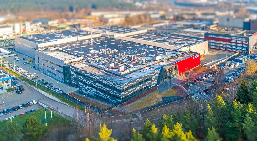 Gamybos ir sandėliavimo paskirties pastatas Elmoris - PST projektai