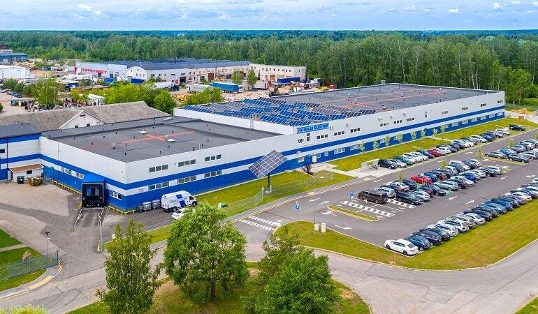 Harju Elekter gamyklos rekonstravimo projektas - PST projektai