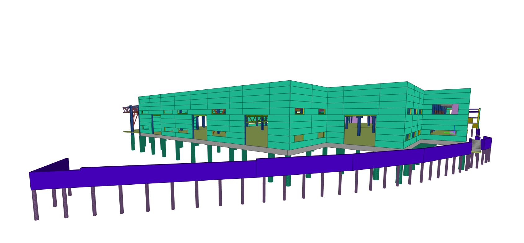 Harju gamyklos projektavimas BIM aplinkoje