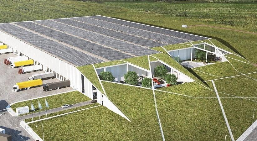 SBA logistikos centras - PST projektai