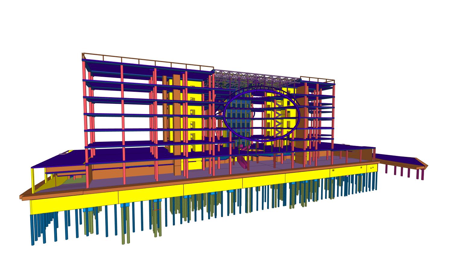 Verslo centras U219 BIM projektas - PST projektai