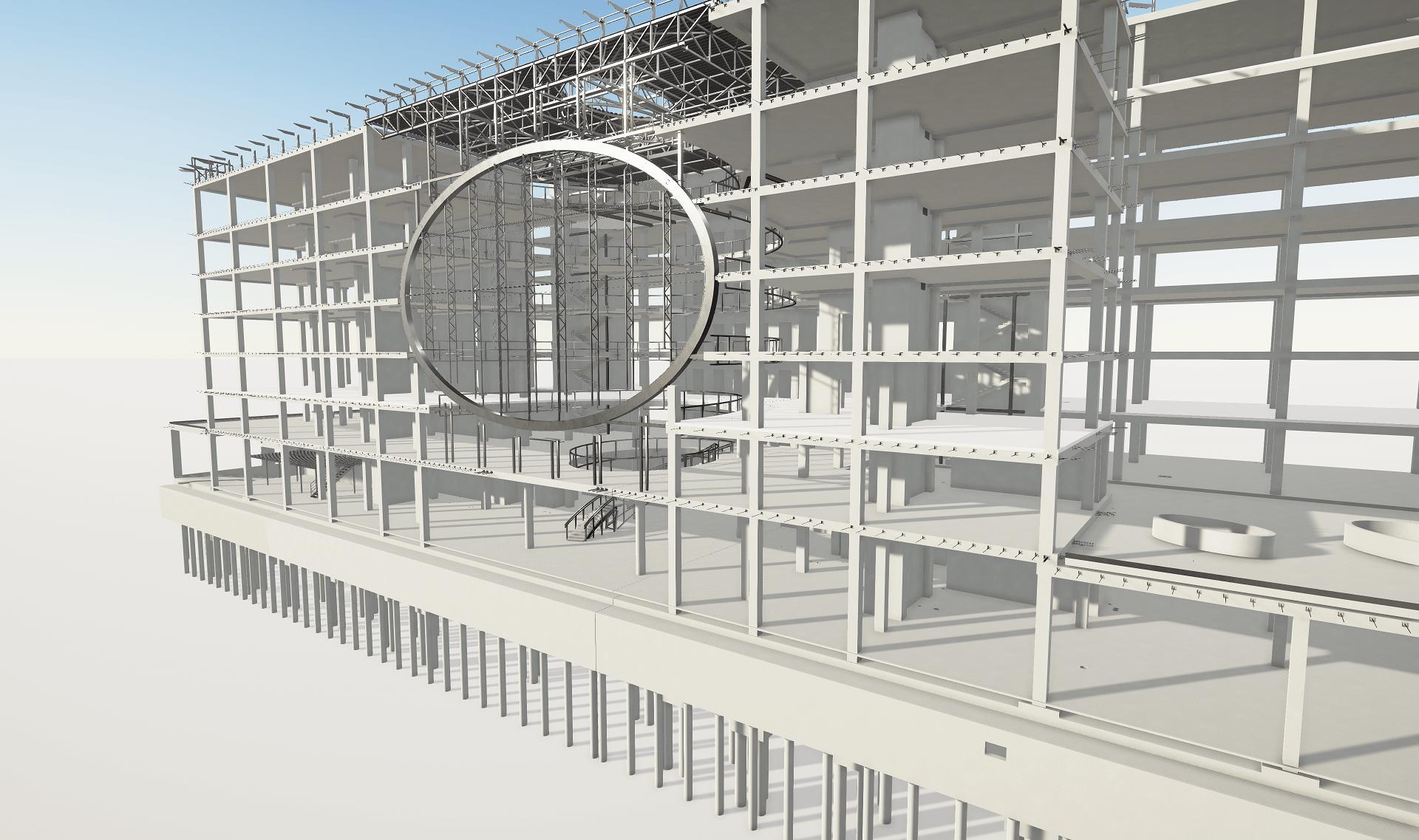 U219 verslo centro integruotas BIM projektavimas