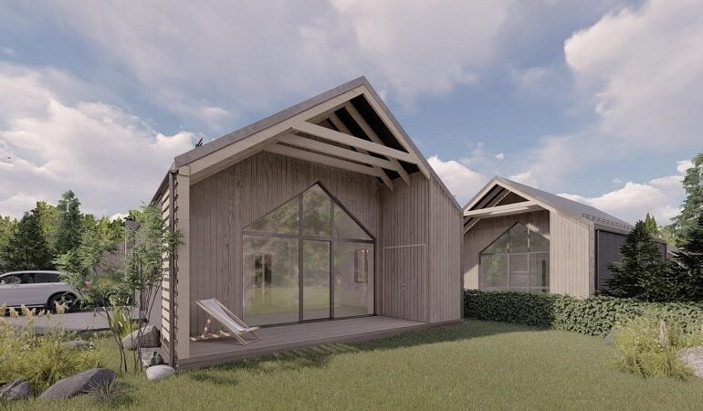 Gyvenamųjų namų projektas Palangoje - PST projektai