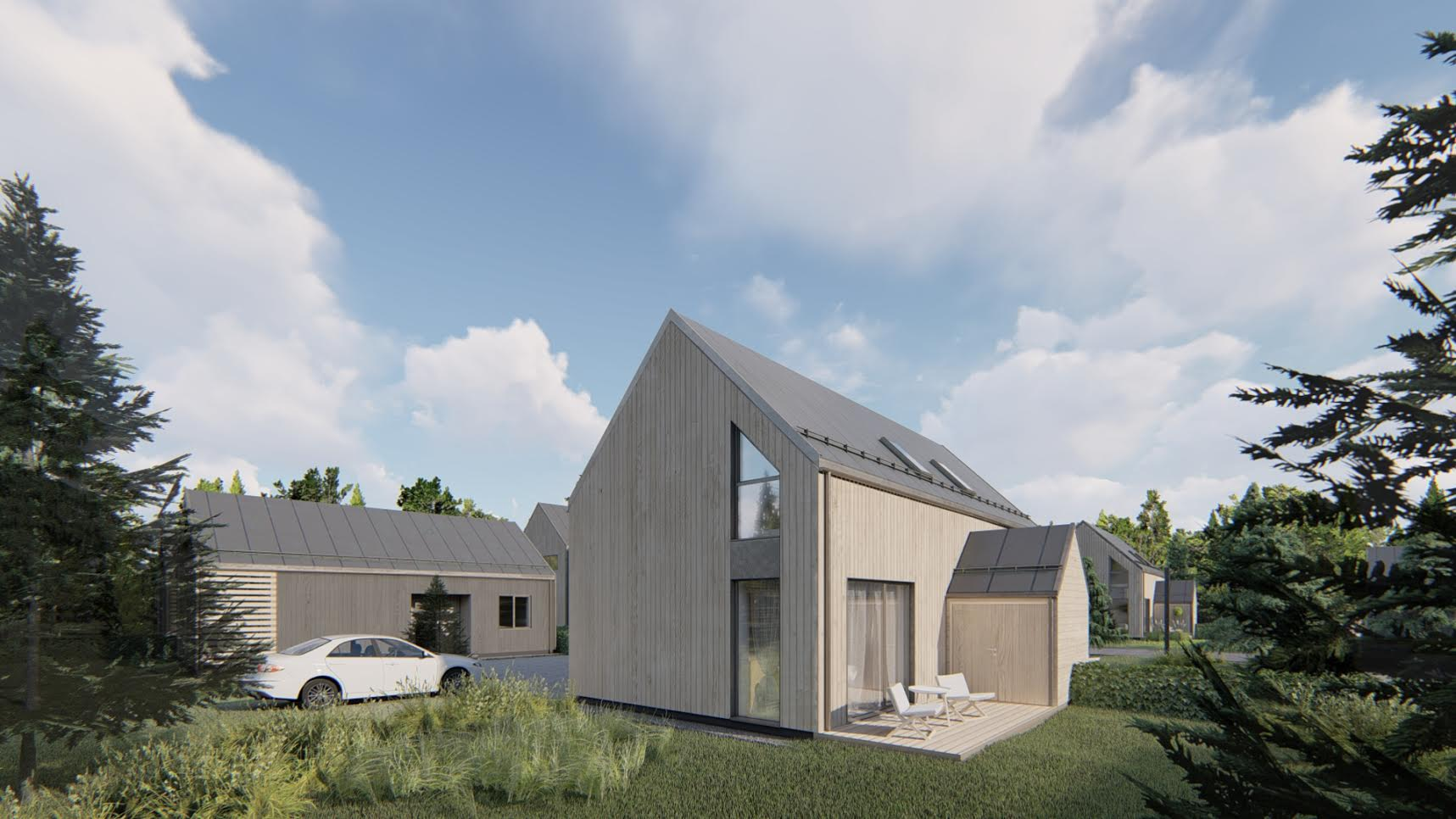 Gyvenamųjų namų projektavimo paslaugos - PST projektai