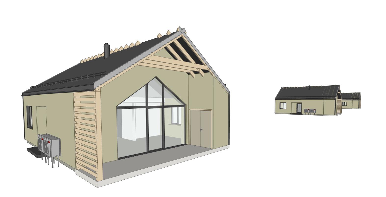 Gyvenamieji namai Palangoje - PST projektai
