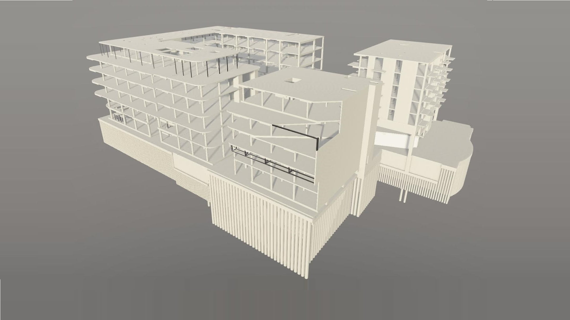 Komercinio pastato BIM projektavimas