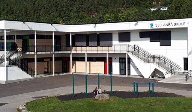 Norway sellanraa school - PST Projektai