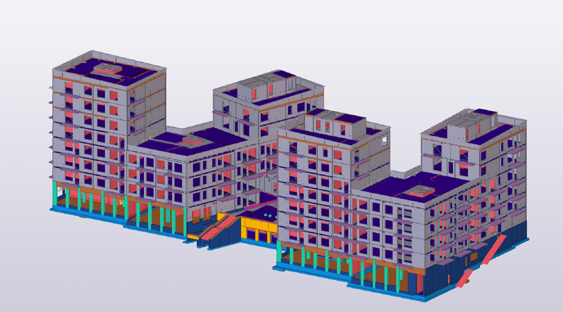 The Alphyddan Apartment Building BIM Project