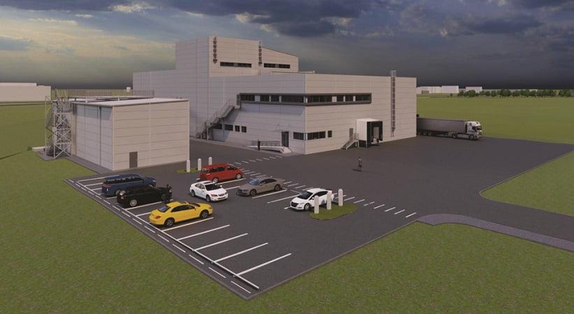 Capella gamykla su administracinėmis ir sandėliavimo patalpomis