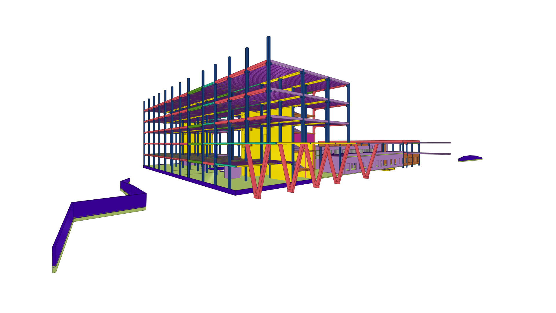 VGTU inžinerijos fakultetų kompleksas PST Projektai