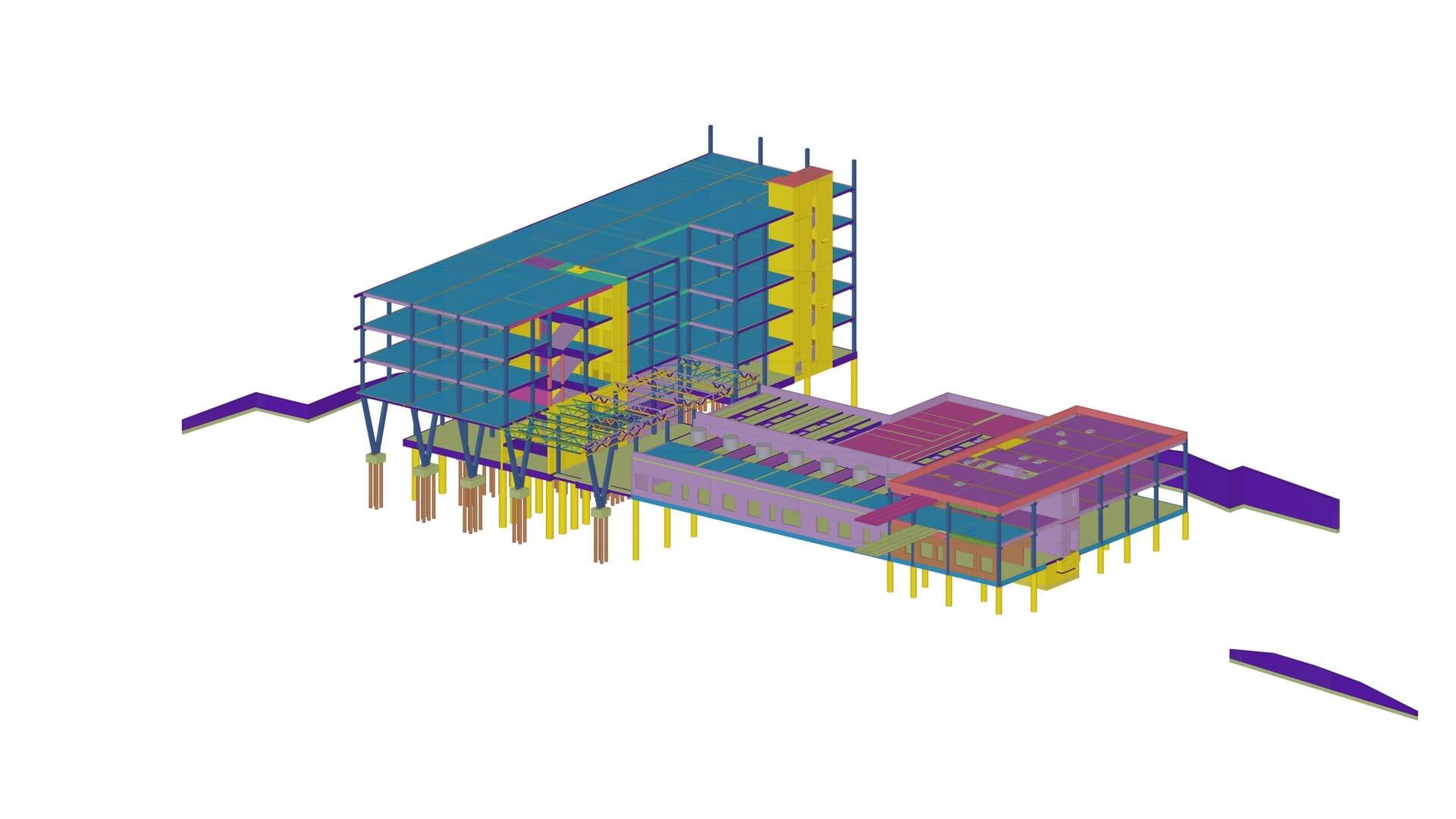 inžinerijos fakultetų komplekso darbo projektas PST Projektai