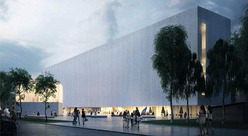 Cultural center reconstruction project
